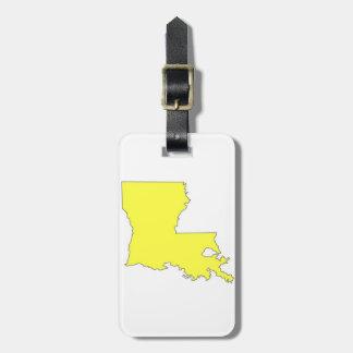 La Louisiane Étiquette Pour Bagages