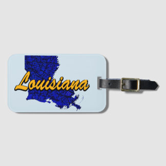 La Louisiane Étiquettes Bagages