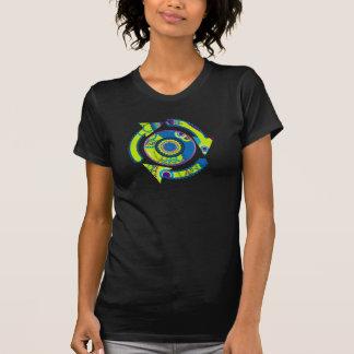 La lueur au néon réutilisent t-shirt