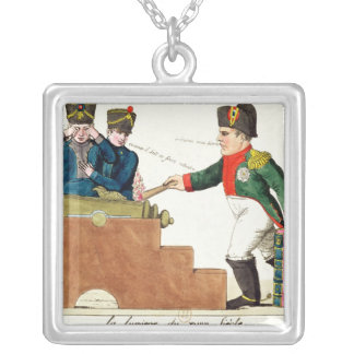 La lumière du 19ème siècle, 1815 pendentif carré