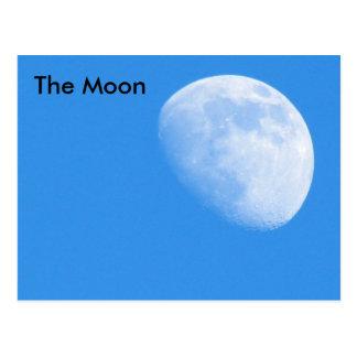 La lune #2 - étude de la carte postale