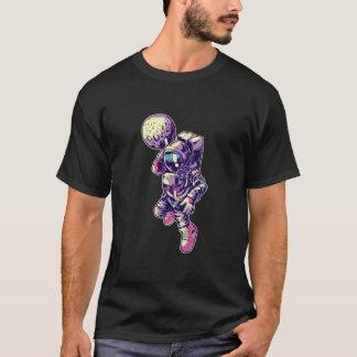 La lune d'astronaute trempent - NBA T-shirt