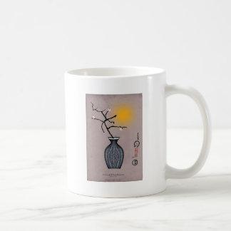la lune élégante des fernandes et la fleur de 3 mug