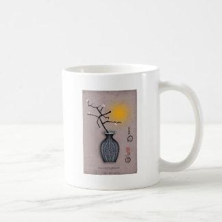 la lune élégante des fernandes et la fleur de 4 mug