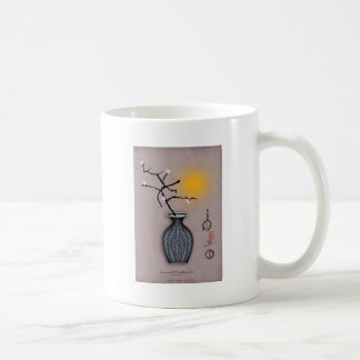 la lune élégante des fernandes et la fleur de 5 mug