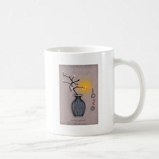 la lune élégante des fernandes et la fleur de 6 mug