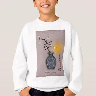 la lune élégante des fernandes et la fleur de 8 sweatshirt