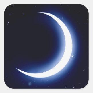 La lune et les étoiles ajustent des autocollants