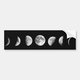 La lune fraîche met l'adhésif pour pare-chocs en autocollant pour voiture