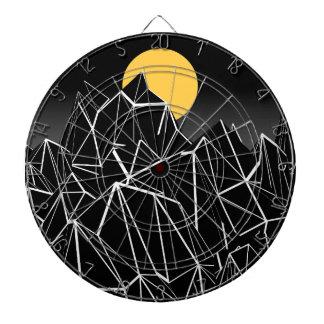 La lune jeu de fléchettes