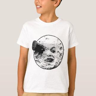 La Lune (visage de Le Voyage Dans seulement) T-shirt