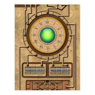 La machine de temps - H.G. Wells Carte Postale
