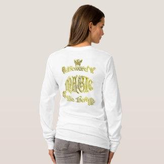 La magie soit ici T-shirt féerique d'or