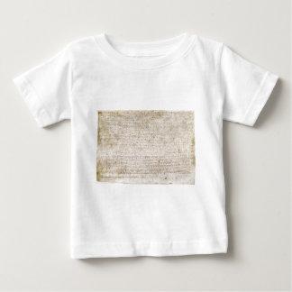 La Magna Carta de la charte 1215 des libertés T-shirt Pour Bébé
