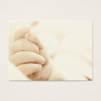 La main du bébé cartes de visite