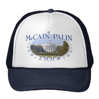 La Maison Blanche 2008 de McCain Palin Casquette