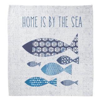 La maison côtière de l'art | est par la mer bandana
