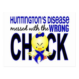 La maladie de Huntington salie avec le poussin Cartes Postales