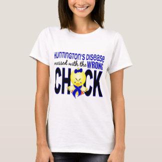 La maladie de Huntington salie avec le poussin T-shirt