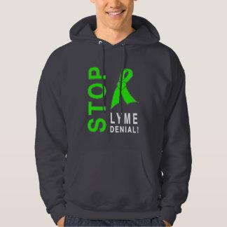 La maladie de Lyme : Arrêtez le démenti de Lyme ! Veste À Capuche