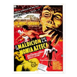 La Maldicion De La Momia Azteca Carte Postale