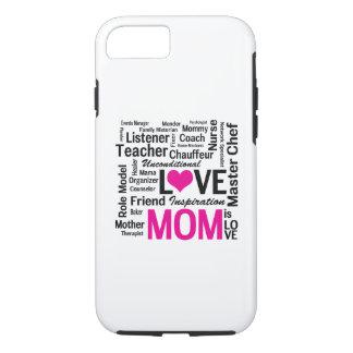 La maman est amour - le jour de mère ou coque iPhone 7