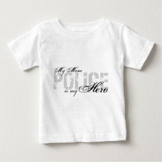 La maman est mon héros - POLICE T-shirt Pour Bébé