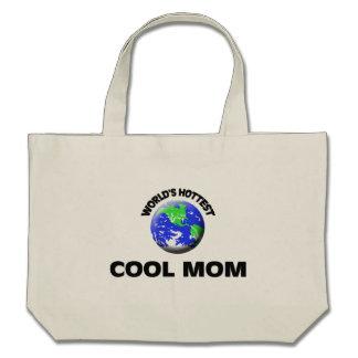 La maman fraîche la plus chaude du monde sac de toile