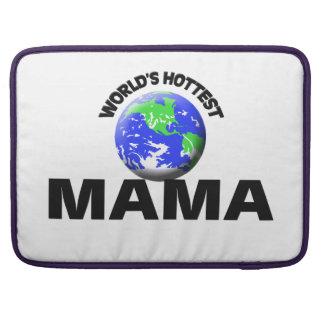 La maman la plus chaude du monde poche pour macbook pro