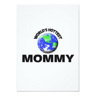 La maman la plus chaude du monde invitation