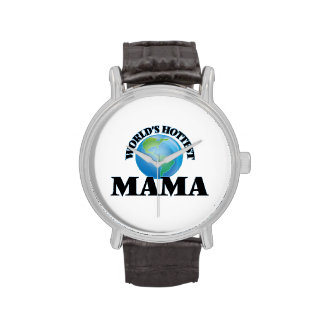 La maman la plus chaude du monde montres bracelet