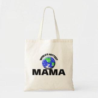 La maman la plus chaude du monde sac fourre-tout