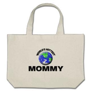 La maman la plus chaude du monde sacs fourre-tout