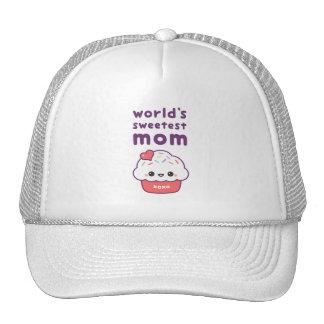 La maman la plus douce du monde casquette de camionneur
