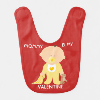 La maman personnalisable est mon bavoir de bébé de