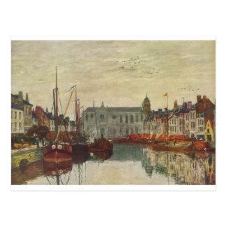 La Manche à Bruxelles par Eugene Boudin Carte Postale