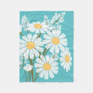 La marguerite blanche fleurit le bouquet sur Teal