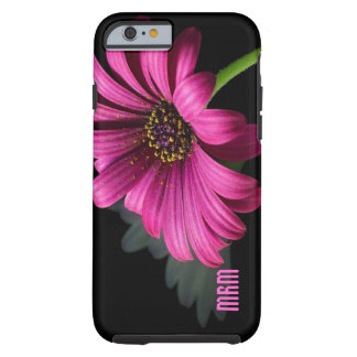 La marguerite rose a personnalisé la caisse de l'i coque tough iPhone 6