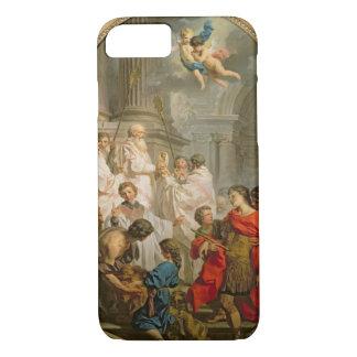 La masse de St Basil (huile sur la toile) Coque iPhone 8/7