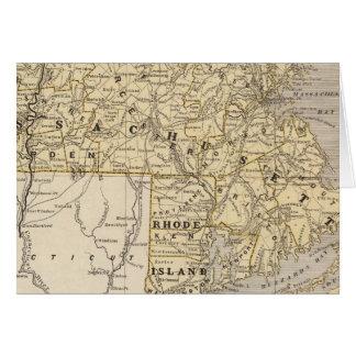 La masse, Île de Rhode Carte De Vœux