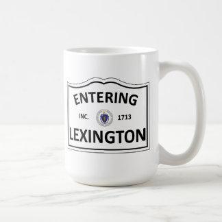 La masse mA Townie de ville natale de LEXINGTON le Mug