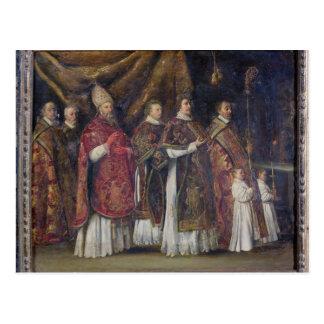 La masse pontificale ou, le cortège cartes postales