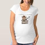 La maternité de poney de cowboy de bébé t-shirts