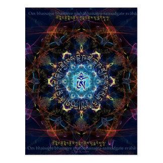 La médecine Bouddha - Bhaisajyaguru Carte Postale