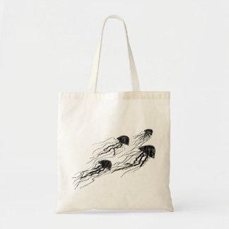 La méduse silhouette le sac fourre-tout