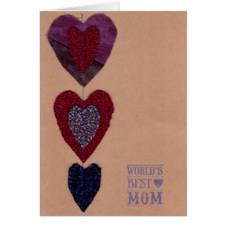 La meilleure carte de la maman du monde