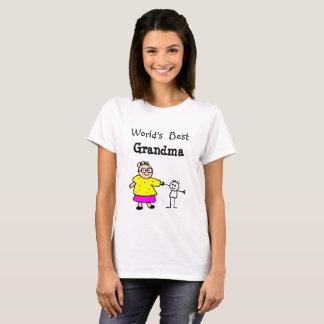 La meilleure chemise de la grand-maman du monde t-shirt