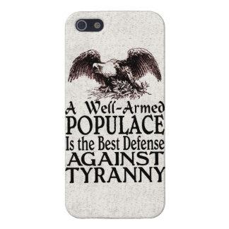 La meilleure défense de foule armée bonne contre coque iPhone 5