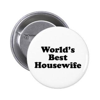 la meilleure femme au foyer du monde badges avec agrafe