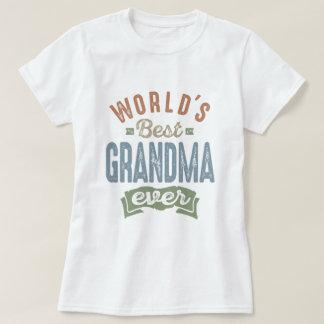 La meilleure grand-maman t-shirt